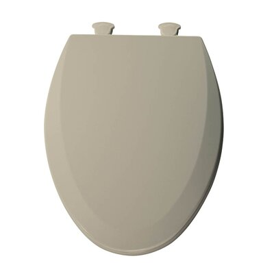 Lift-Off Wood Elongated Toilet Seat Finish: Bone