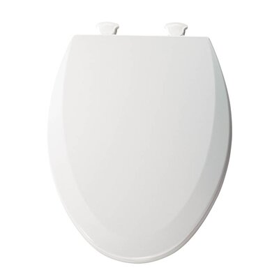 Lift-Off Wood Elongated Toilet Seat Finish: Cotton White