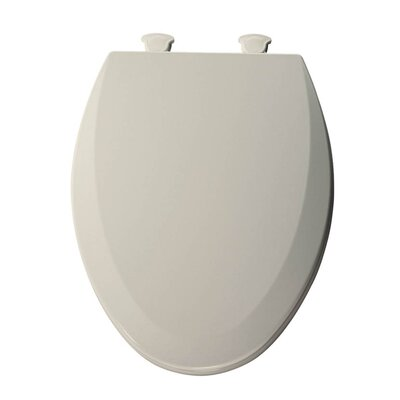 Lift-Off Wood Elongated Toilet Seat Finish: Biscuit