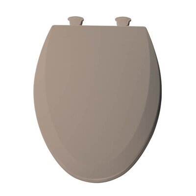 Lift-Off Wood Elongated Toilet Seat Finish: Fawn Beige