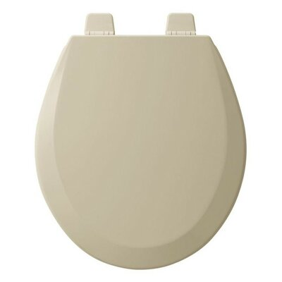 Wood Round Toilet Seat Finish: Bone