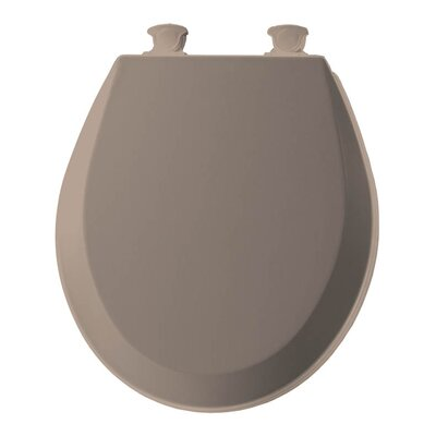 Lift-Off Wood Round Toilet Seat Finish: Fawn Beige