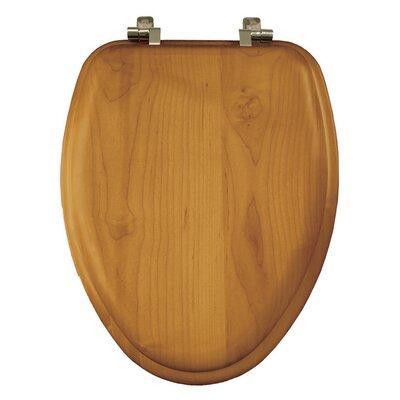 Natural Reflections Wood Elongated Toilet Seat Finish: Oak