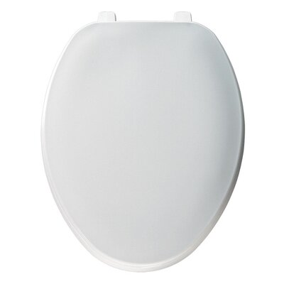 Plastic Elongated Toilet Seat Finish: White