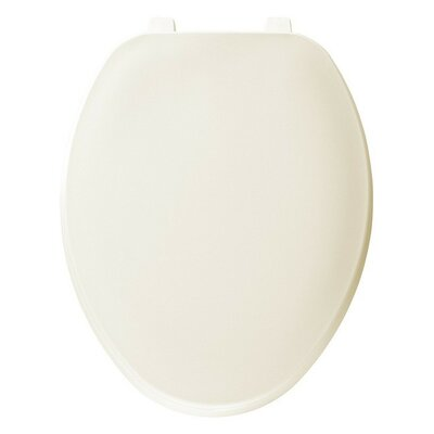Plastic Elongated Toilet Seat Finish: Bone