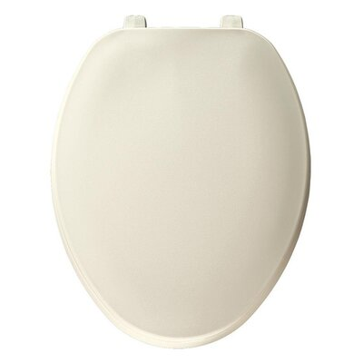 Plastic Elongated Toilet Seat Finish: Biscuit