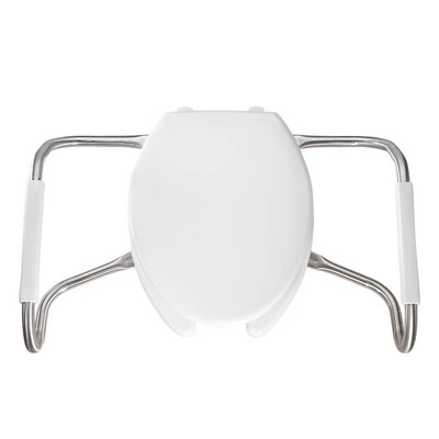 Medical Assistance Plastic Elongated Toilet Seat