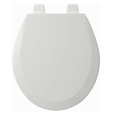 Wood Round Toilet Seat Finish: White
