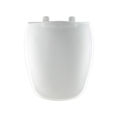 Plastic Round Toilet Seat Finish: White