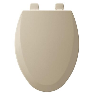 Wood Elongated Toilet Seat Finish: Bone