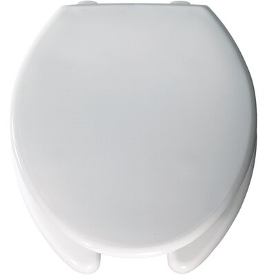 Medic-Aid Open Front Round Raised Toilet Seat