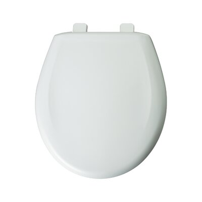 Round Toilet Seat Finish: White