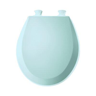 Molded Wood Round Toilet Seat Finish: Dresden Blue