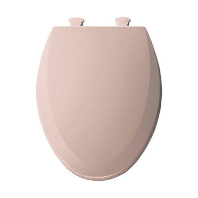 Molded Wood Elongated Toilet Seat Finish: Venetian Pink