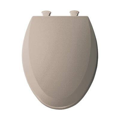 Molded Wood Elongated Toilet Seat Finish: Fawn Beige