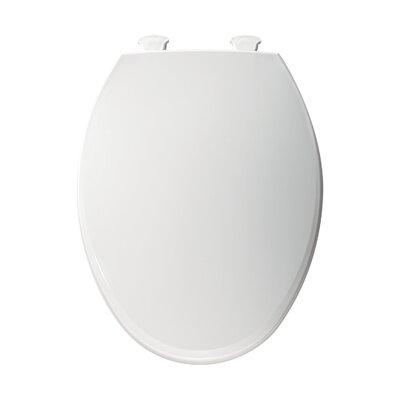 Elongated Toilet Seat Finish: White