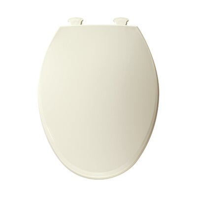 Elongated Toilet Seat Finish: Biscuit