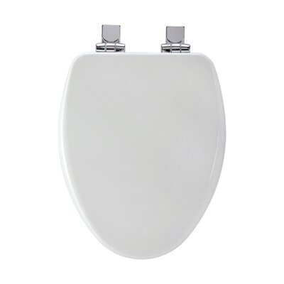 High Density Elongated Toilet Seat Finish: White