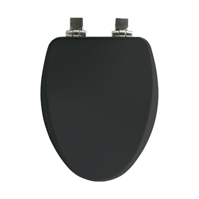 High Density Elongated Toilet Seat Finish: Black