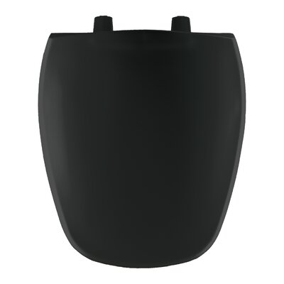 Round Toilet Seat Finish: Black