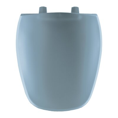 Round Toilet Seat Finish: Glacier Blue