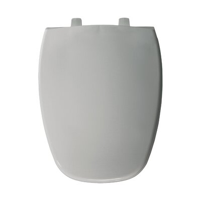 Elongated Toilet Seat Finish: Silver
