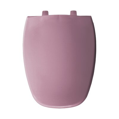 Elongated Toilet Seat Finish: Dusty Rose
