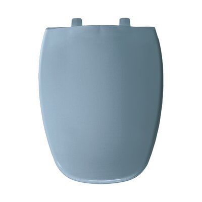 Elongated Toilet Seat Finish: Glacier Blue