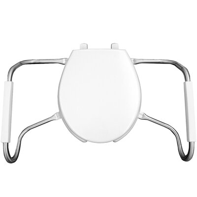Medic Aid Open Front Round Toilet Seat