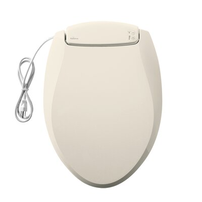 Radiance Heated Night Light Elongated Toilet Seat Finish: Biscuit