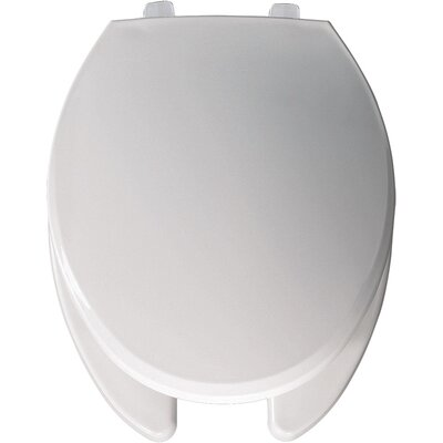 Commercial Open Front Solid Plastic Elongated Toilet Seat Hinge Type: Check Hinge