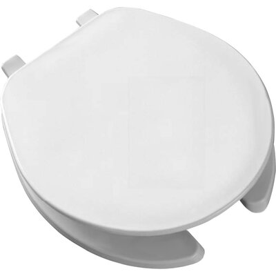 Commercial Round Toilet Seat Finish: White
