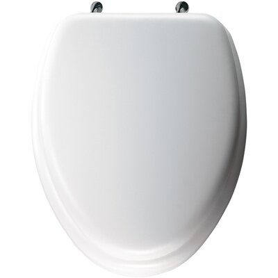 Cushioned Elongated Toilet Seat