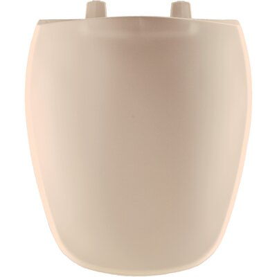 Plastic Round Front Toilet Seat Finish: Natural