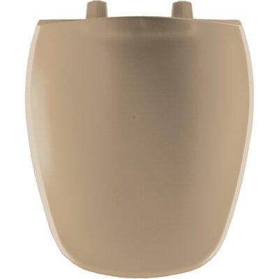Plastic Round Front Toilet Seat Finish: Sand