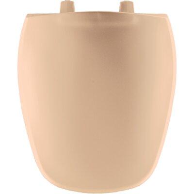 Plastic Round Front Toilet Seat Finish: Peach Bisque
