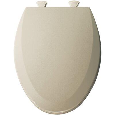 Molded Wood Elongated Toilet Seat Finish: Bone