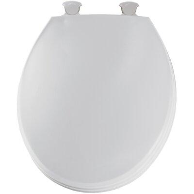 Solid Round Toilet Seat Finish: White