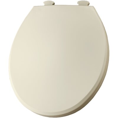 Solid Round Toilet Seat Finish: Bone