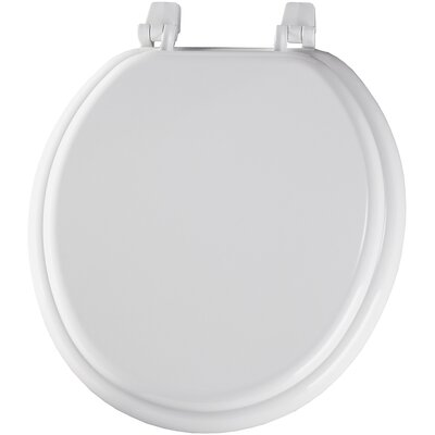 Molded Wood Round Toilet Seat