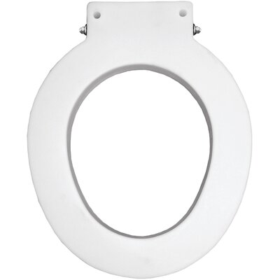 Closed Front Plastic 4 Spacer Round Toilet Seat