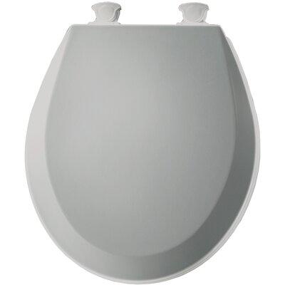 Molded Wood Round Toilet Seat Finish: Ice Gray