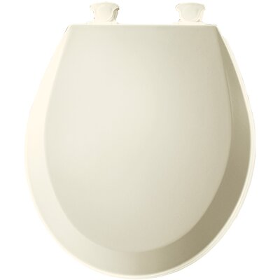 Molded Wood Round Toilet Seat Finish: Biscuit