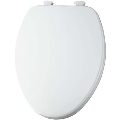 Closed Front Elongated Toilet Seat Finish: White