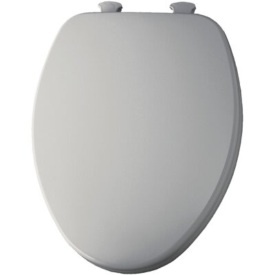 Closed Front Elongated Toilet Seat Finish: Ice Grey