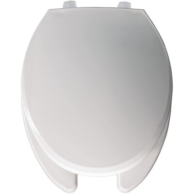 Commercial Open Front Solid Plastic Elongated Toilet Seat Hinge Type: JUST-LIFT Hinge