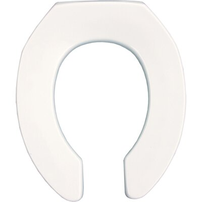 Commercial Plastic Round Toilet Seat