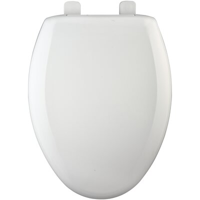 Hospitality Heavy-Duty Plastic Elongated Toilet Seat