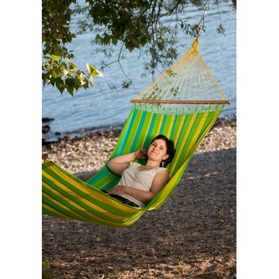 Chillax Olefin Hammock with Stand Size: Single, Color: Lime