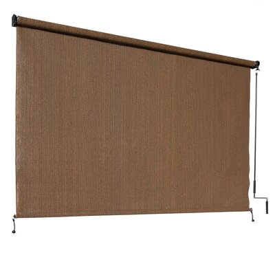 Blackout Mocha Outdoor Roller Shade